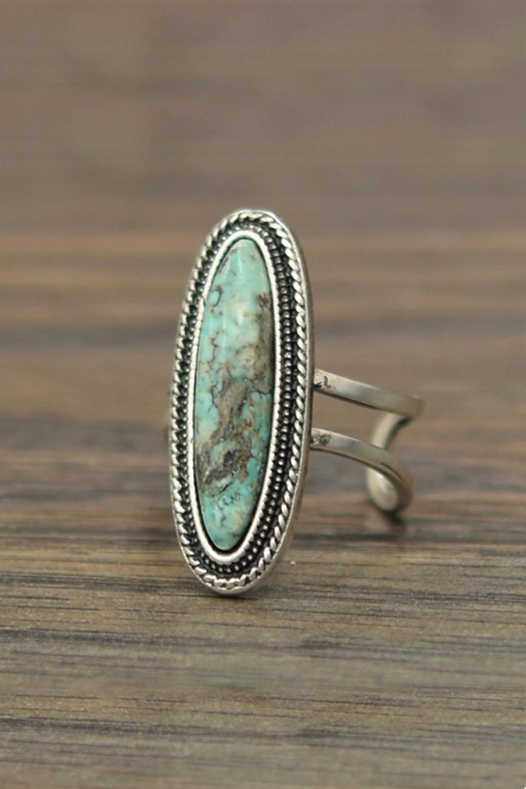 JChronicles Natural Turquoise Ring - Main Image