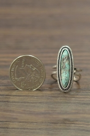 JChronicles Natural Turquoise Ring - Side cropped