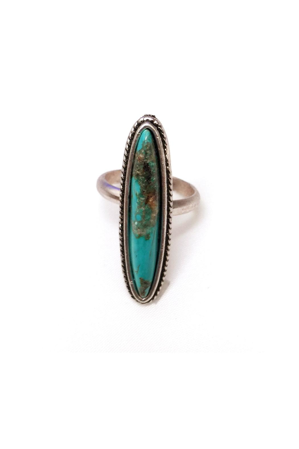 JChronicles Natural Turquoise Ring - Side Cropped Image