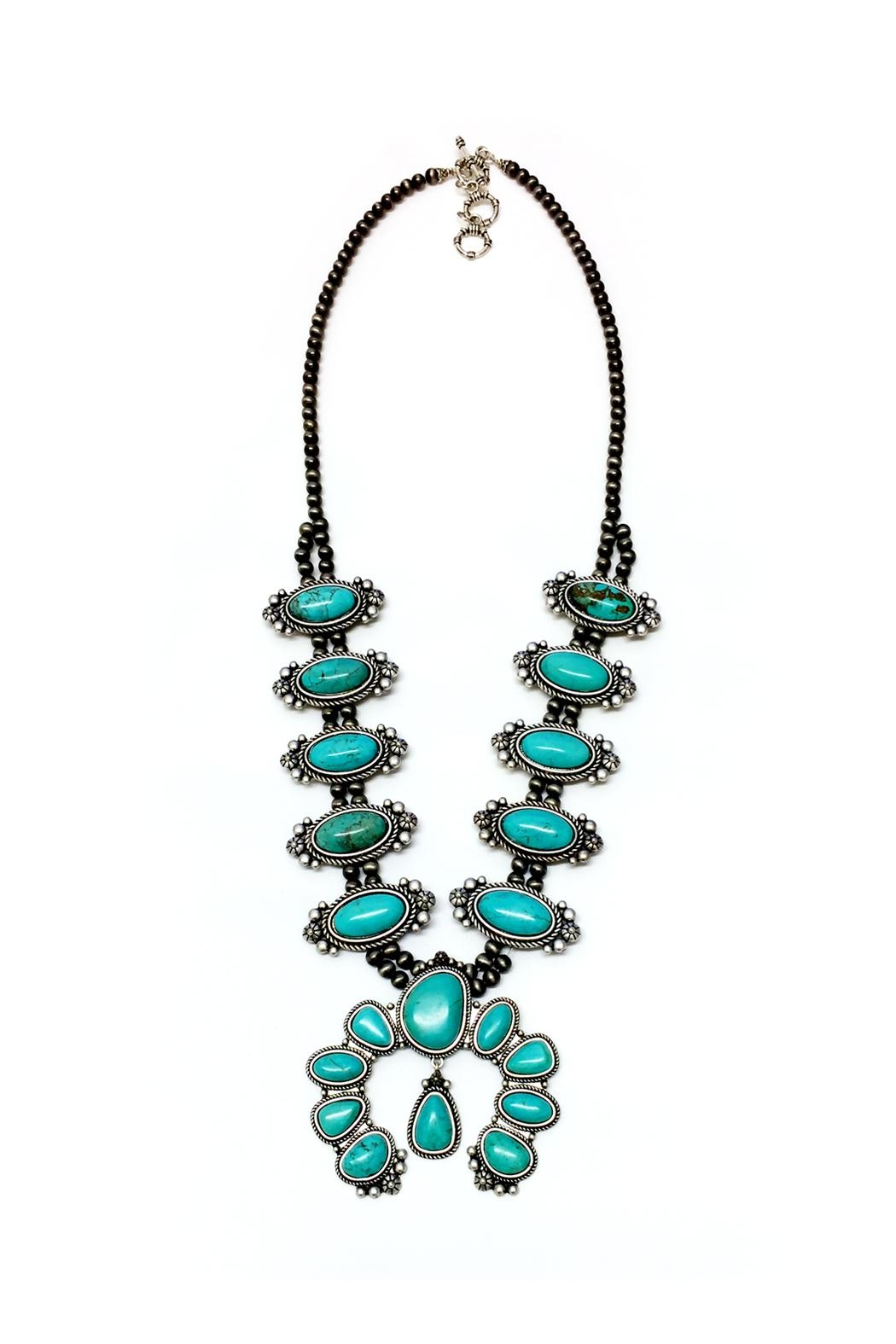 JChronicles Natural Turquoise Squash Necklace - Main Image