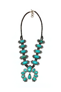 JChronicles Natural Turquoise Squash Necklace - Product List Image