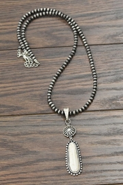 JChronicles Natural White Turquoise Necklace - Product Mini Image
