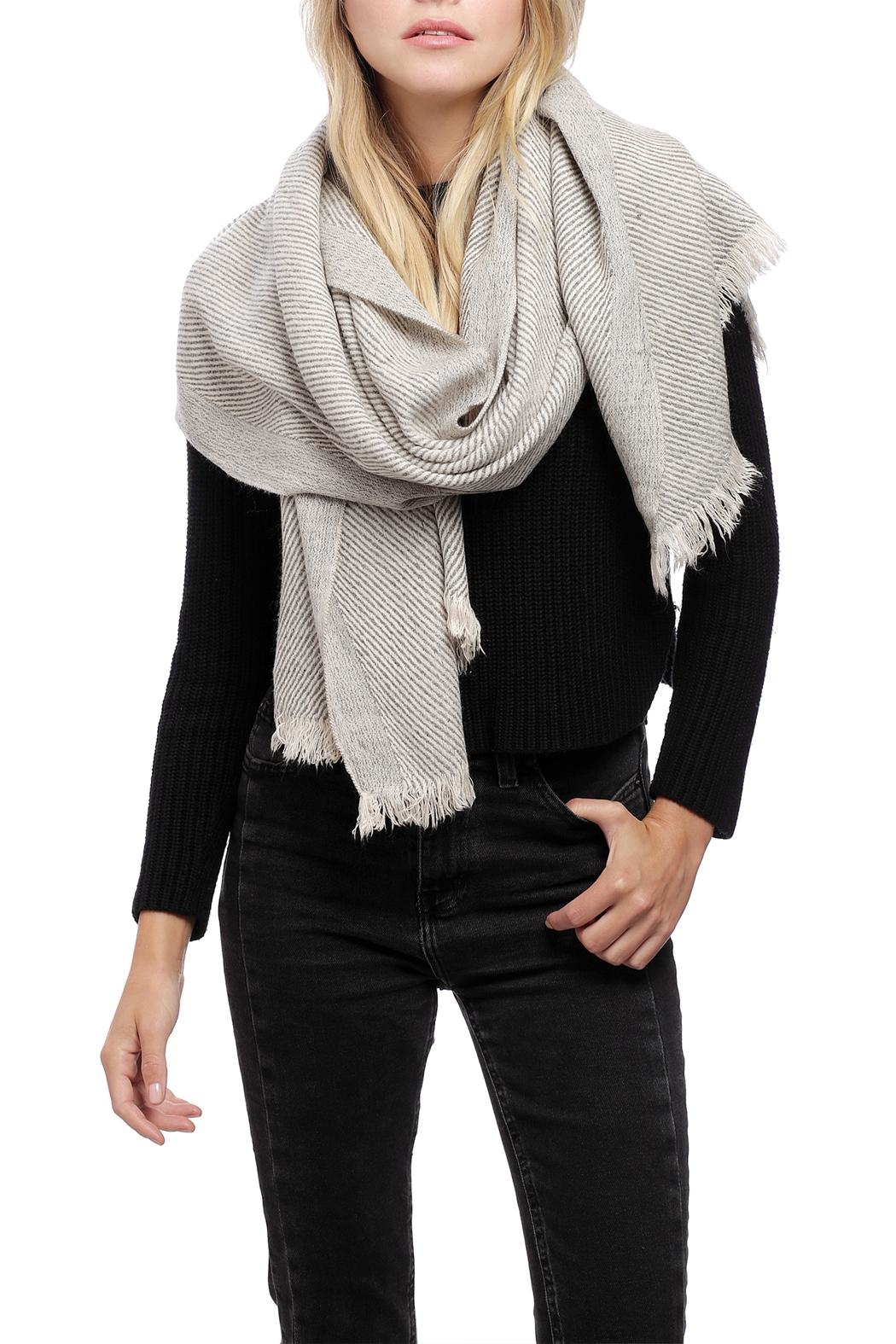 JChronicles Oblique Oblong Scarf - Front Cropped Image