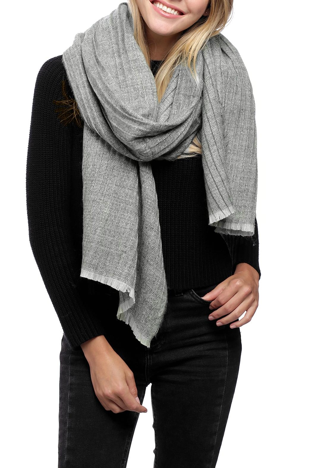 JChronicles Oblong Pleats Scarf - Front Cropped Image