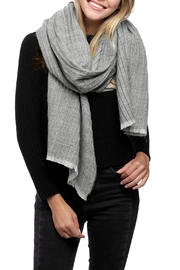 JChronicles Oblong Pleats Scarf - Front cropped