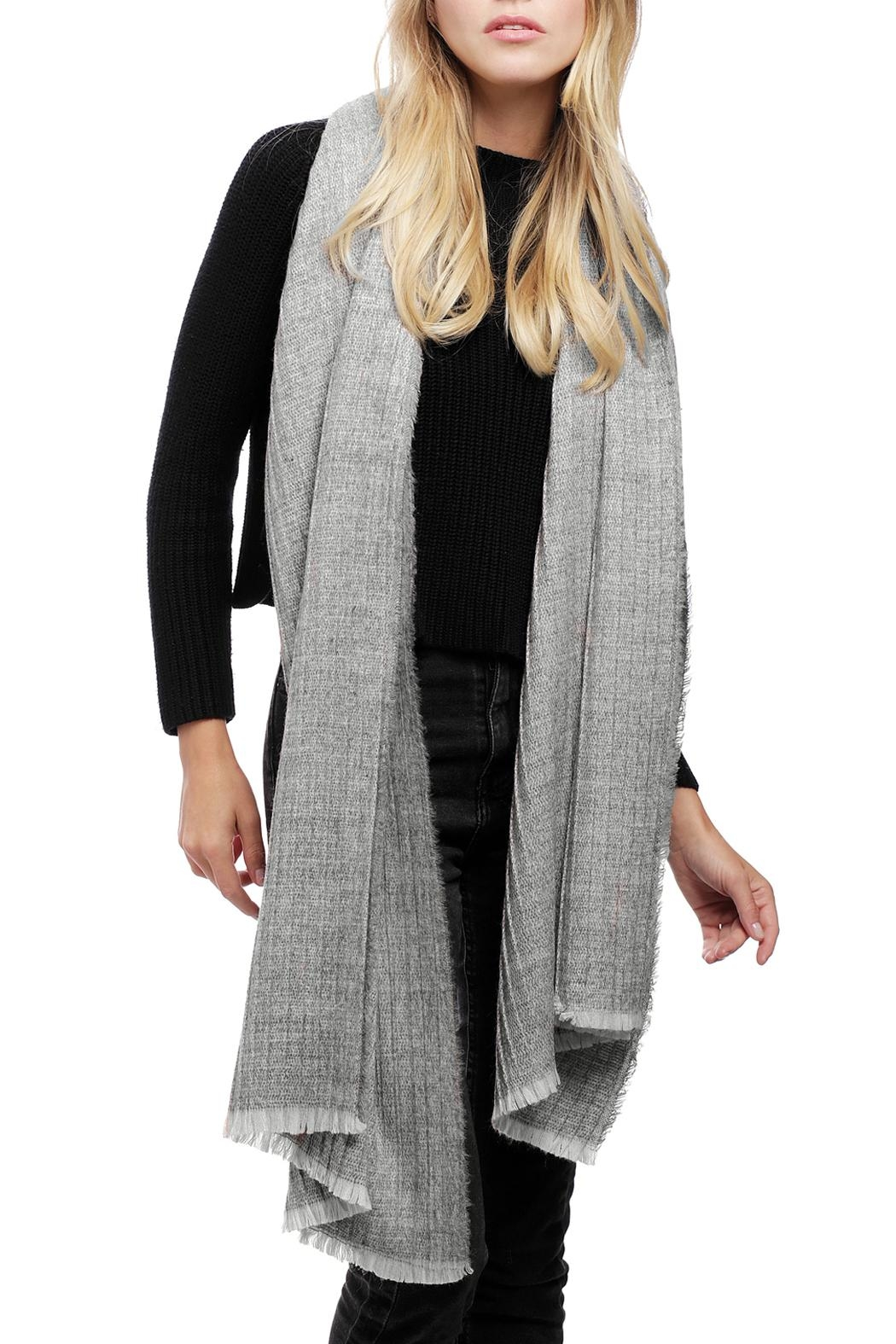 JChronicles Oblong Pleats Scarf - Side Cropped Image