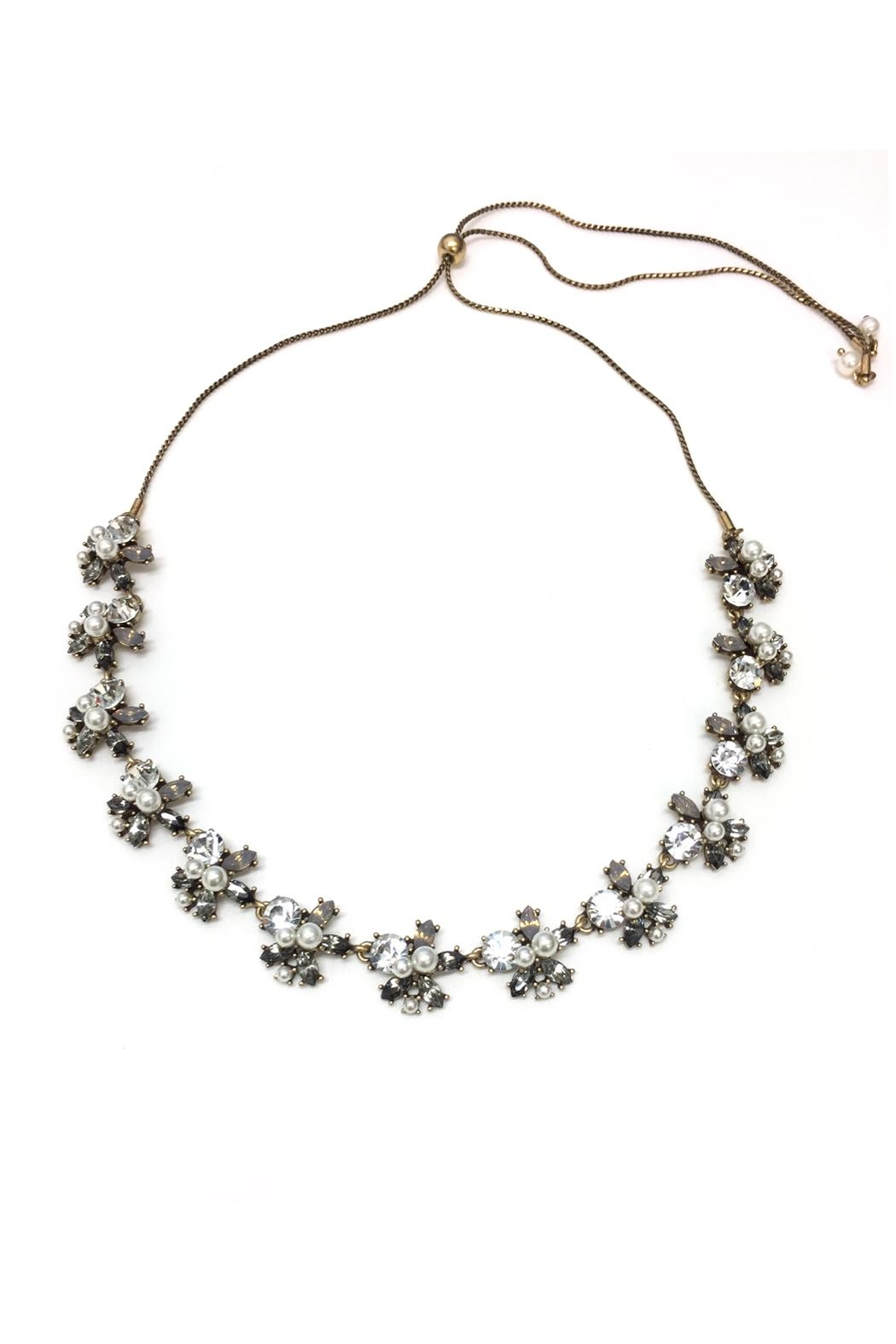 JChronicles Pearl Long Necklace - Front Full Image