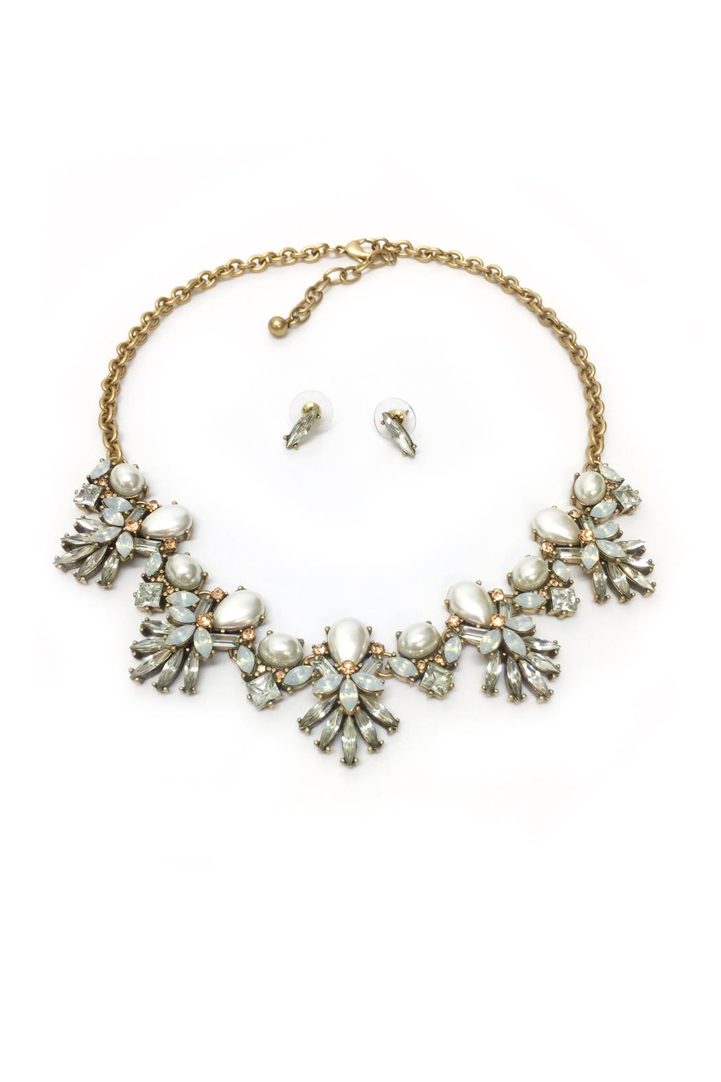 JChronicles Pearl Statement Necklace - Main Image