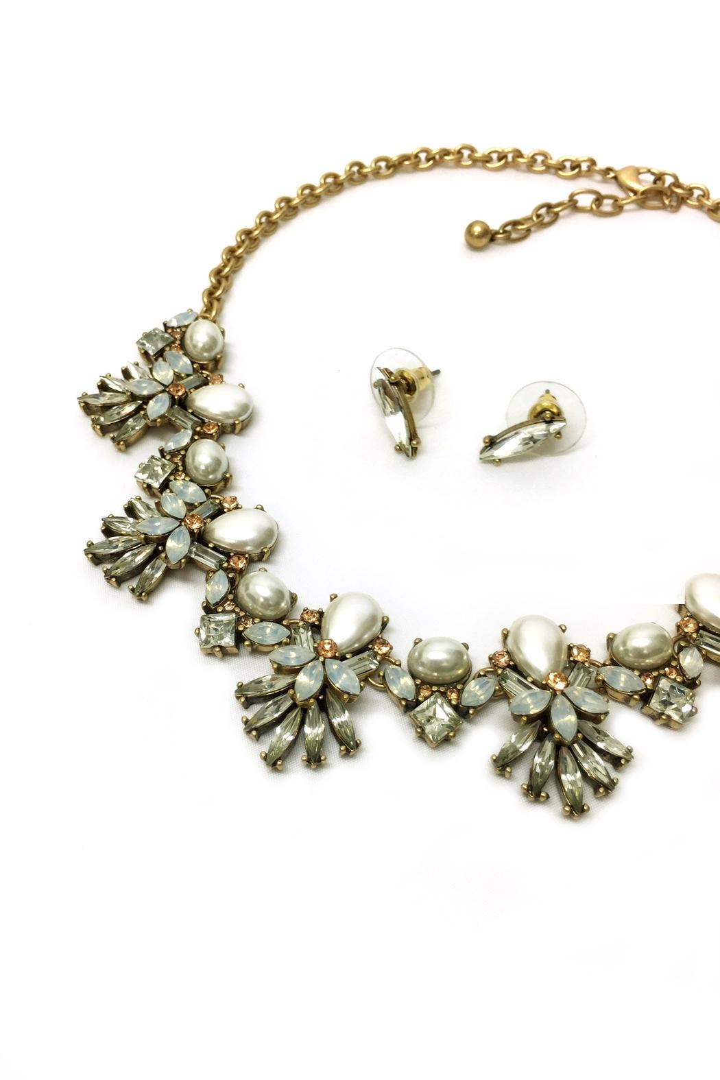 JChronicles Pearl Statement Necklace - Front Full Image