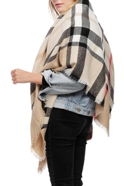 JChronicles Plaid Square Scarf - Front cropped