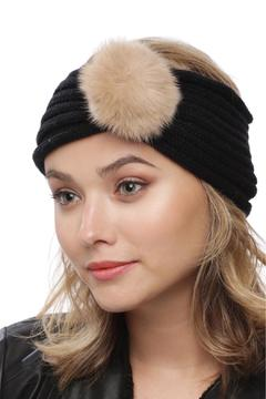 Shoptiques Product: Pom Ball Knit Headband