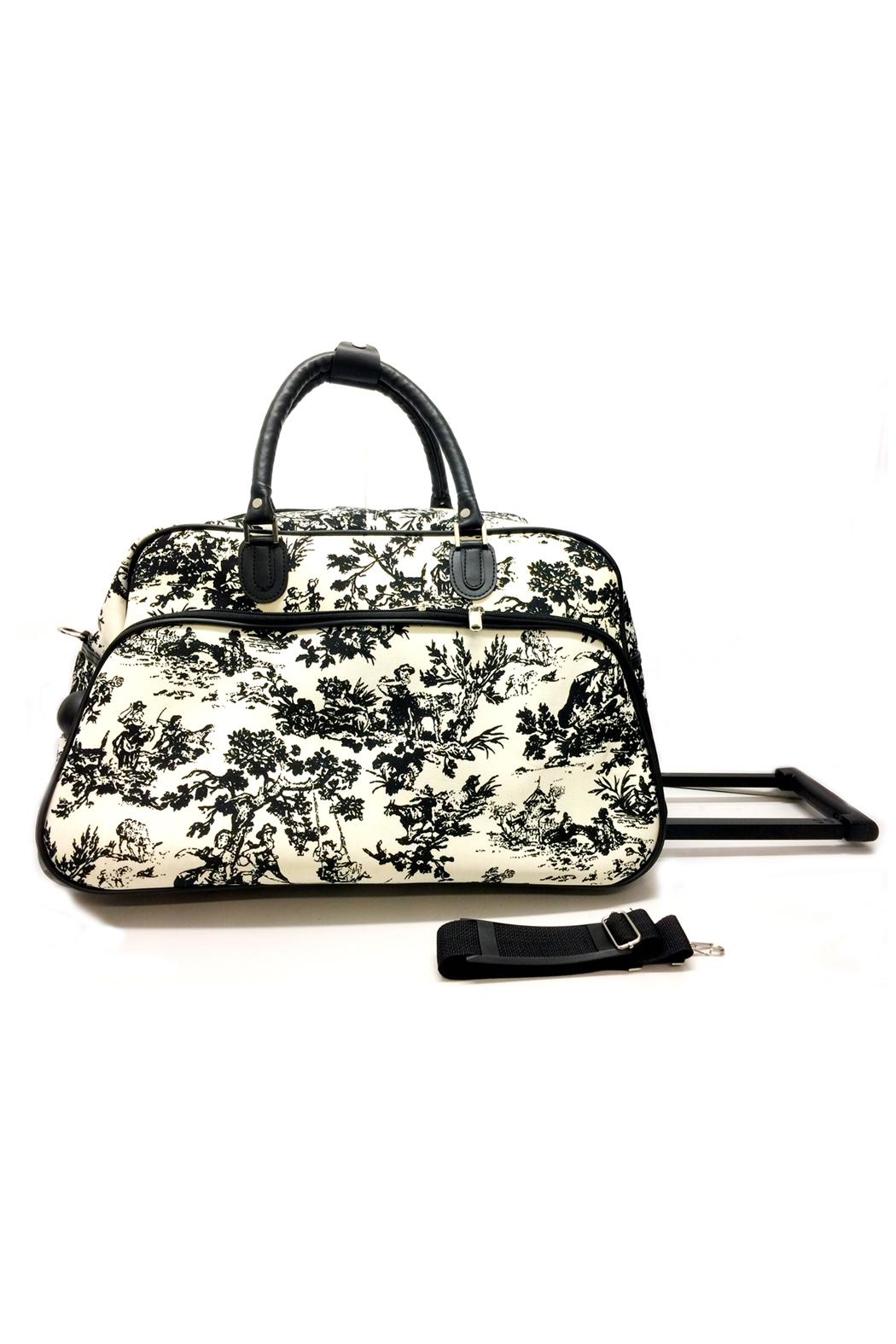 JChronicles Rolling Duffel Bags - Front Full Image