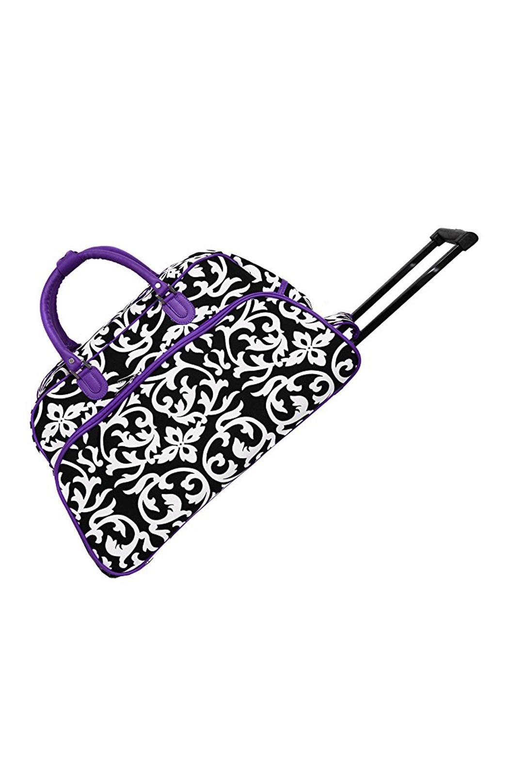 JChronicles Rolling Duffel Bags - Front Cropped Image