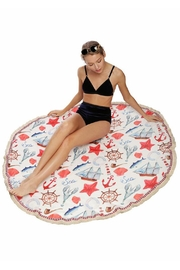 JChronicles Round Beach Towel - Back cropped