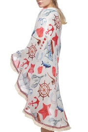 JChronicles Round Beach Towel - Front full body