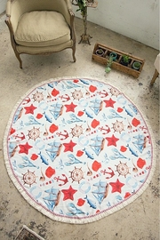 JChronicles Round Beach Towel - Front cropped