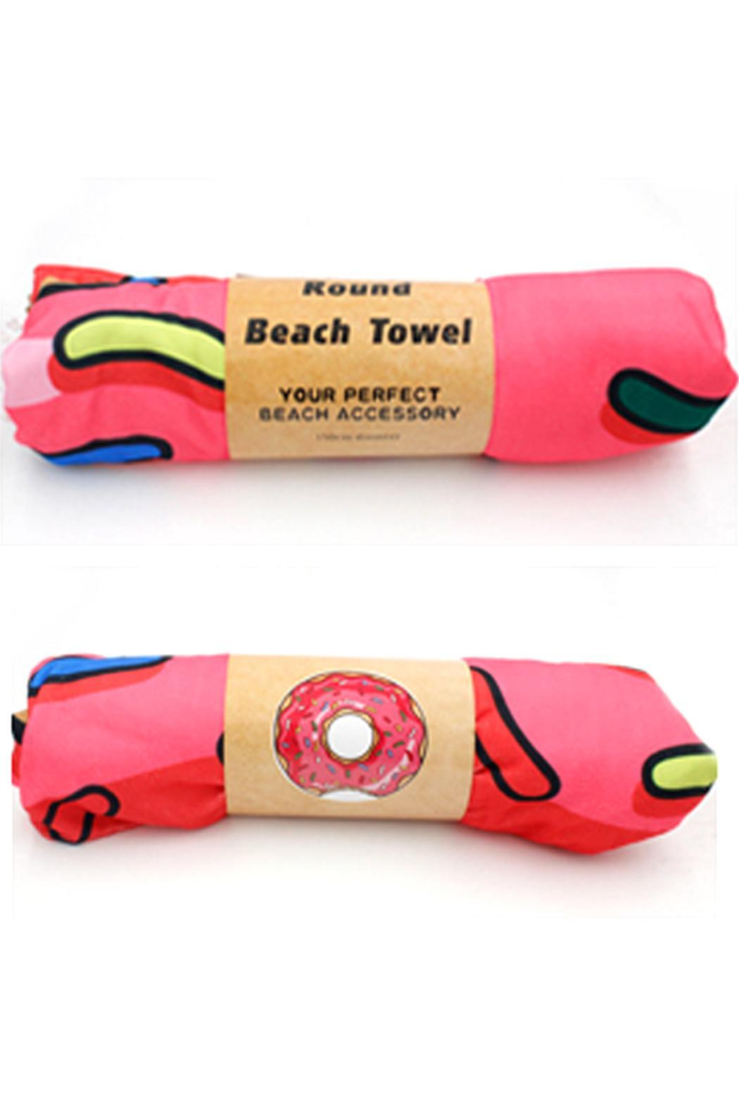 Jchronicles Donut Beach Towel From Texas Shoptiques