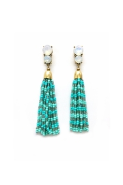 JChronicles Seed-Bead Tassel Earring - Product Mini Image