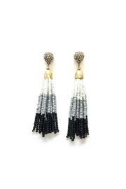 JChronicles Seedbead Tassel Earring - Product Mini Image