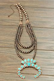 JChronicles Squash-Blossom Copper Necklace - Product Mini Image