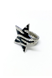 JChronicles Star Zebra Ring - Front full body