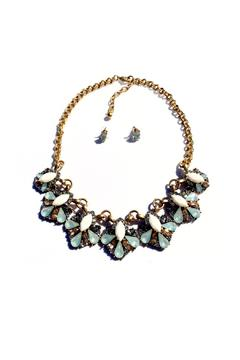 Shoptiques Product: Statement Multi-Color Necklace