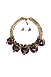 JChronicles Statement Necklace Set - Front cropped