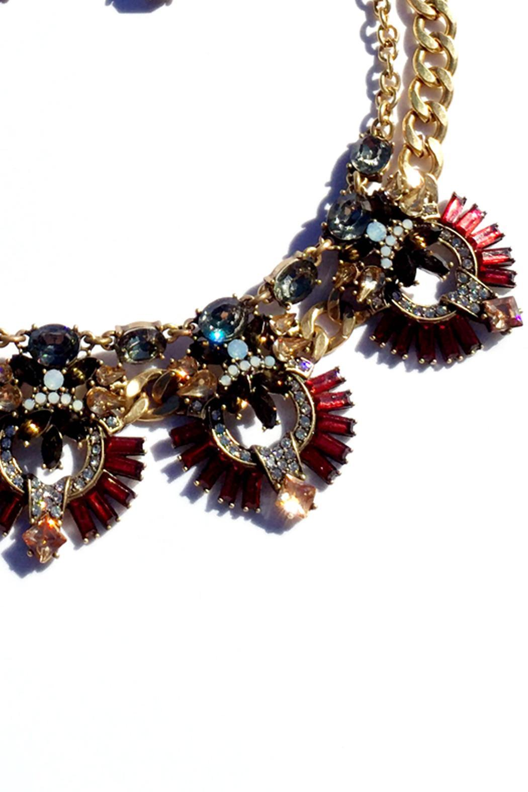 JChronicles Statement Necklace Set - Side Cropped Image