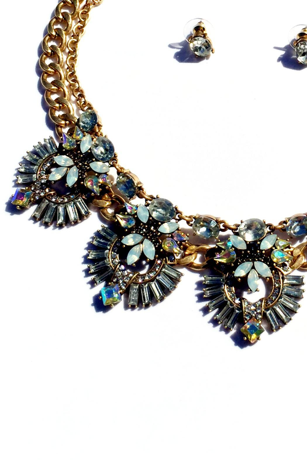 JChronicles Statement Necklace Set - Front Full Image