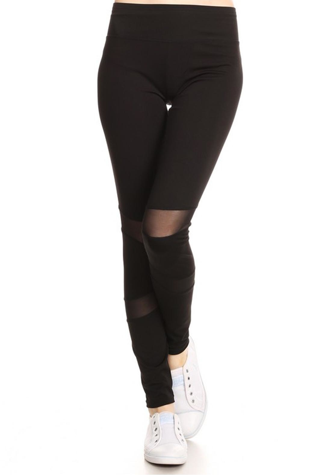 JChronicles Stride Active Leggings - Front Cropped Image