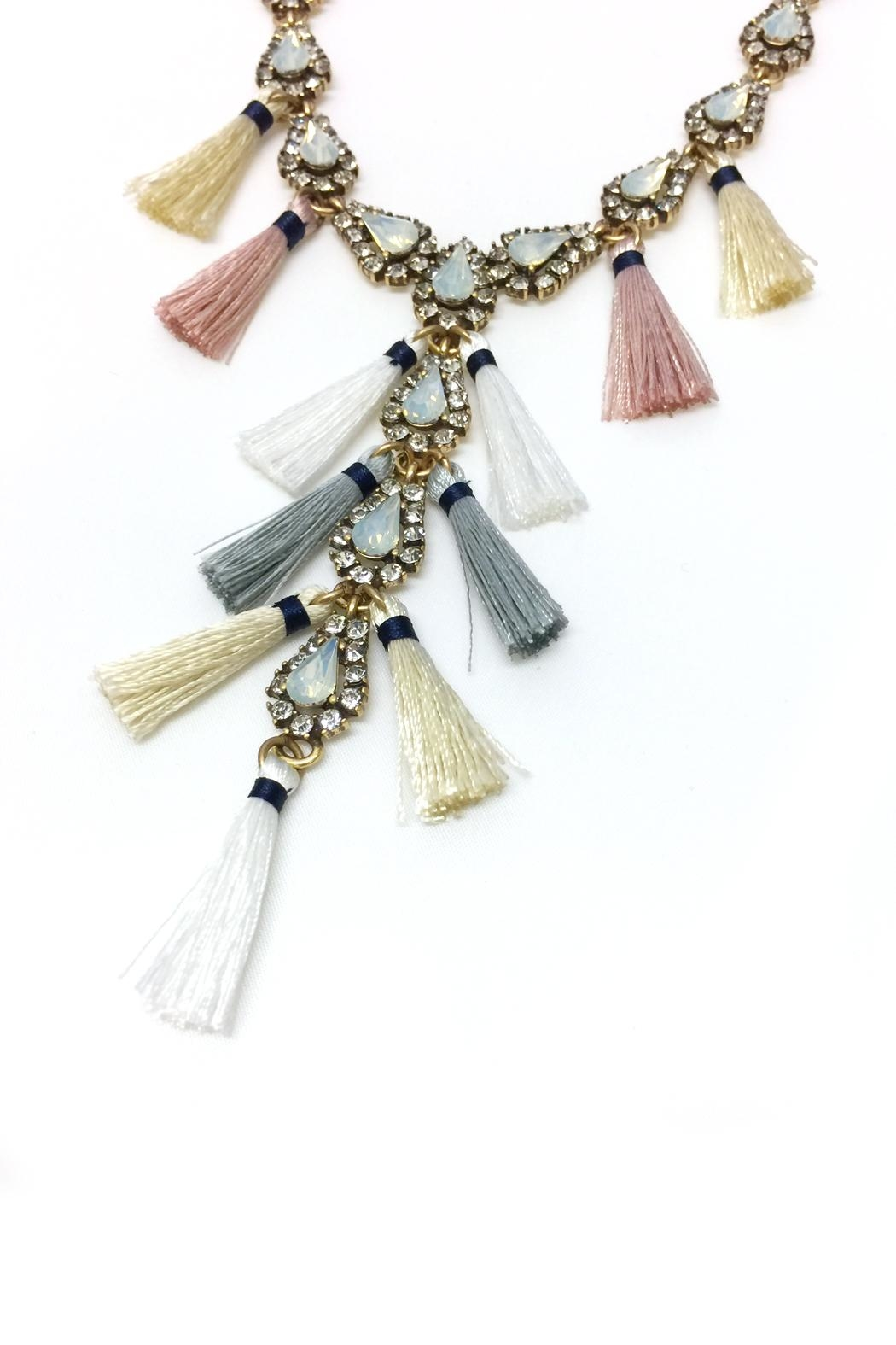 JChronicles Tassel Charm Necklace - Side Cropped Image
