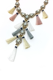 JChronicles Tassel Charm Necklace - Side cropped