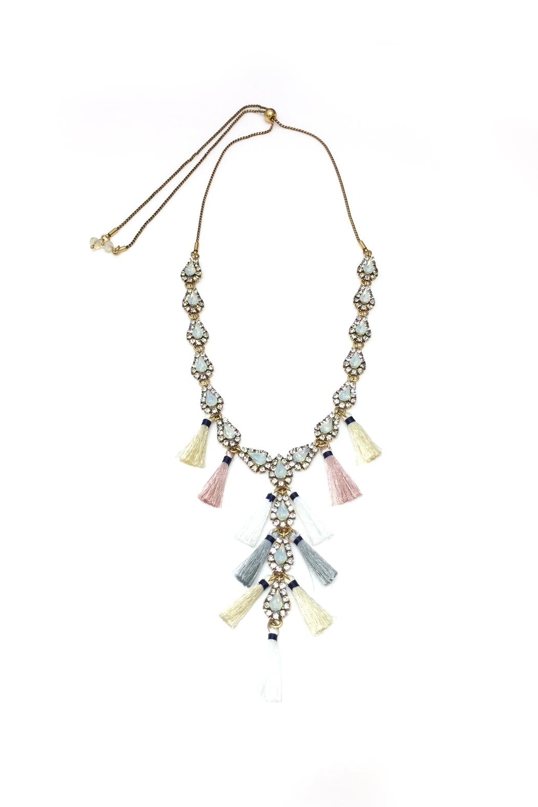 JChronicles Tassel Charm Necklace - Front Full Image