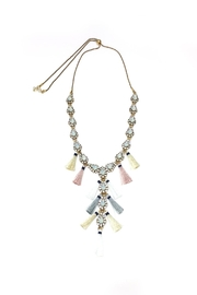 JChronicles Tassel Charm Necklace - Front full body