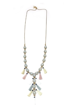 Shoptiques Product: Tassel Charm Necklace
