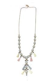 JChronicles Tassel Charm Necklace - Front cropped