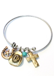 JChronicles Western Cowboy Charm Bracelet - Front cropped
