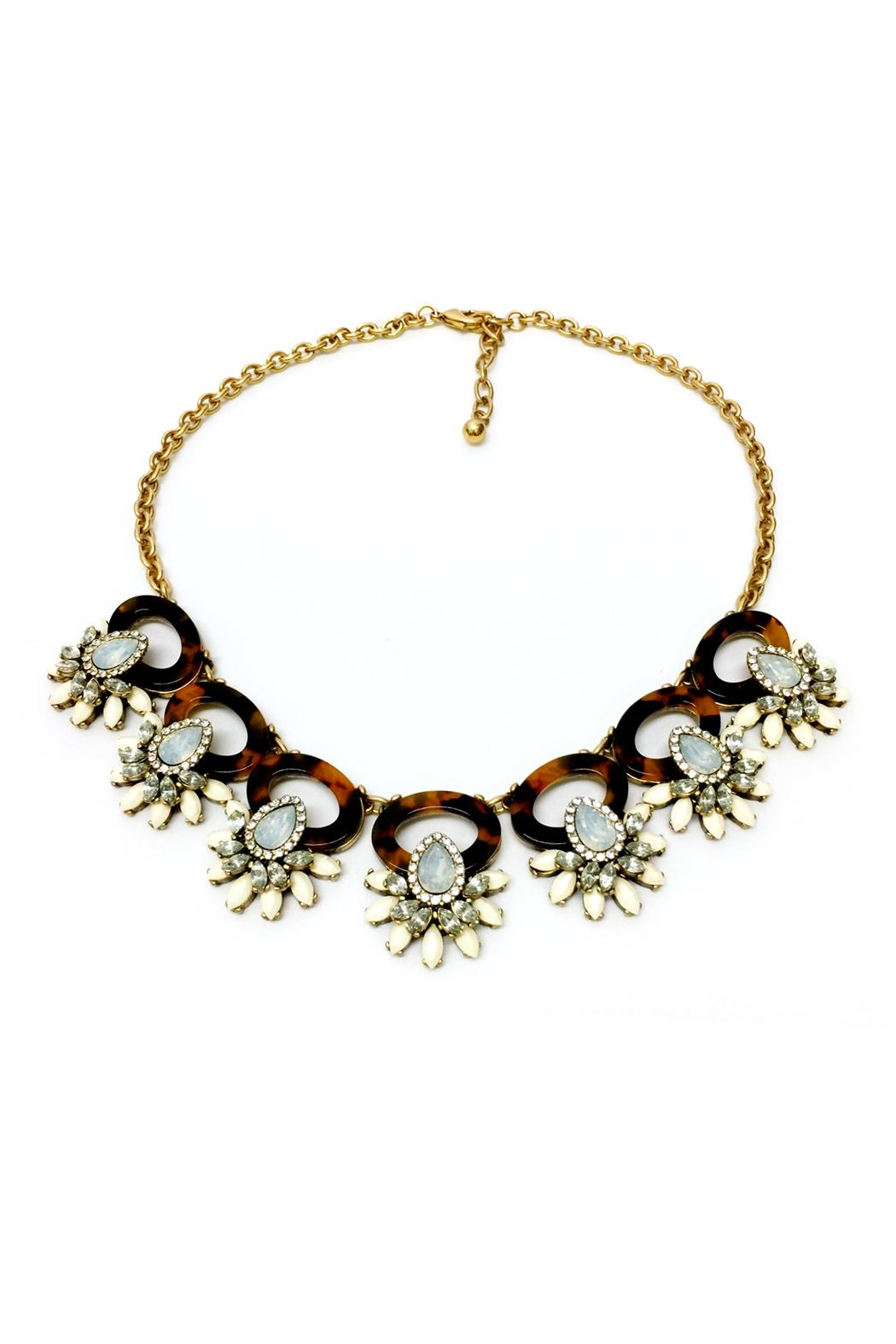 JChronicles Tortoise Statement Necklace - Front Cropped Image