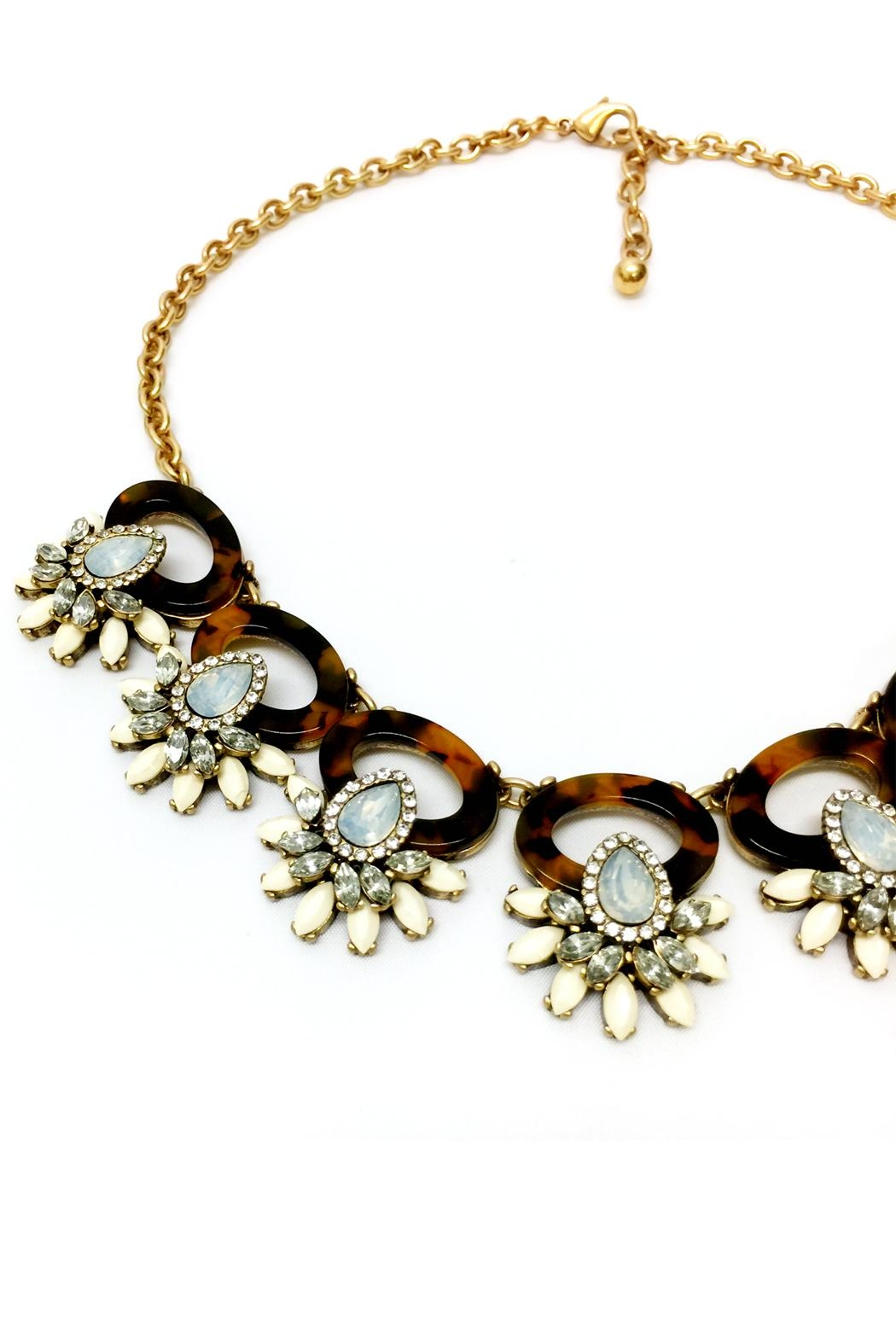 JChronicles Tortoise Statement Necklace - Front Full Image