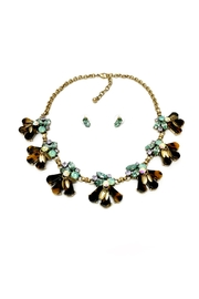 JChronicles Tortoise Statement Necklace - Front cropped