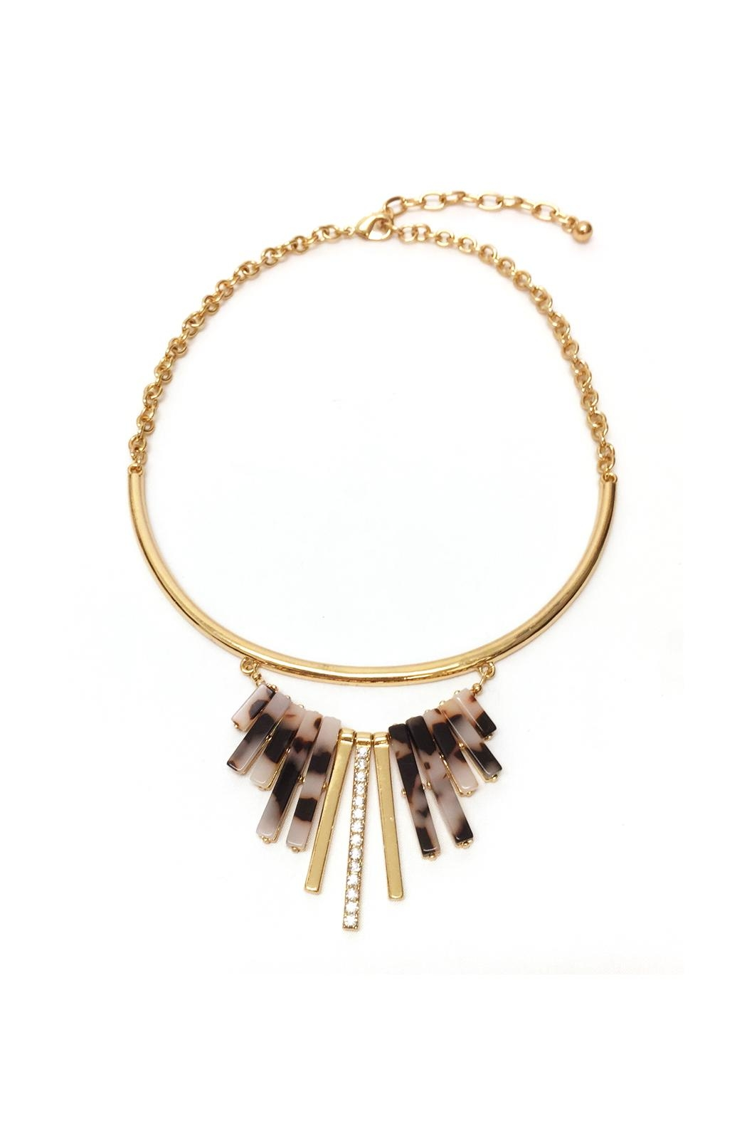 JChronicles Tortoise Statement Necklace - Main Image
