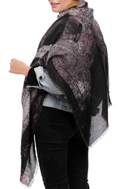 JChronicles Train Print Oblong Scarf - Front cropped