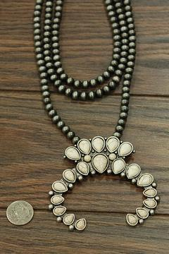 Shoptiques Product: White Turquoise Necklace