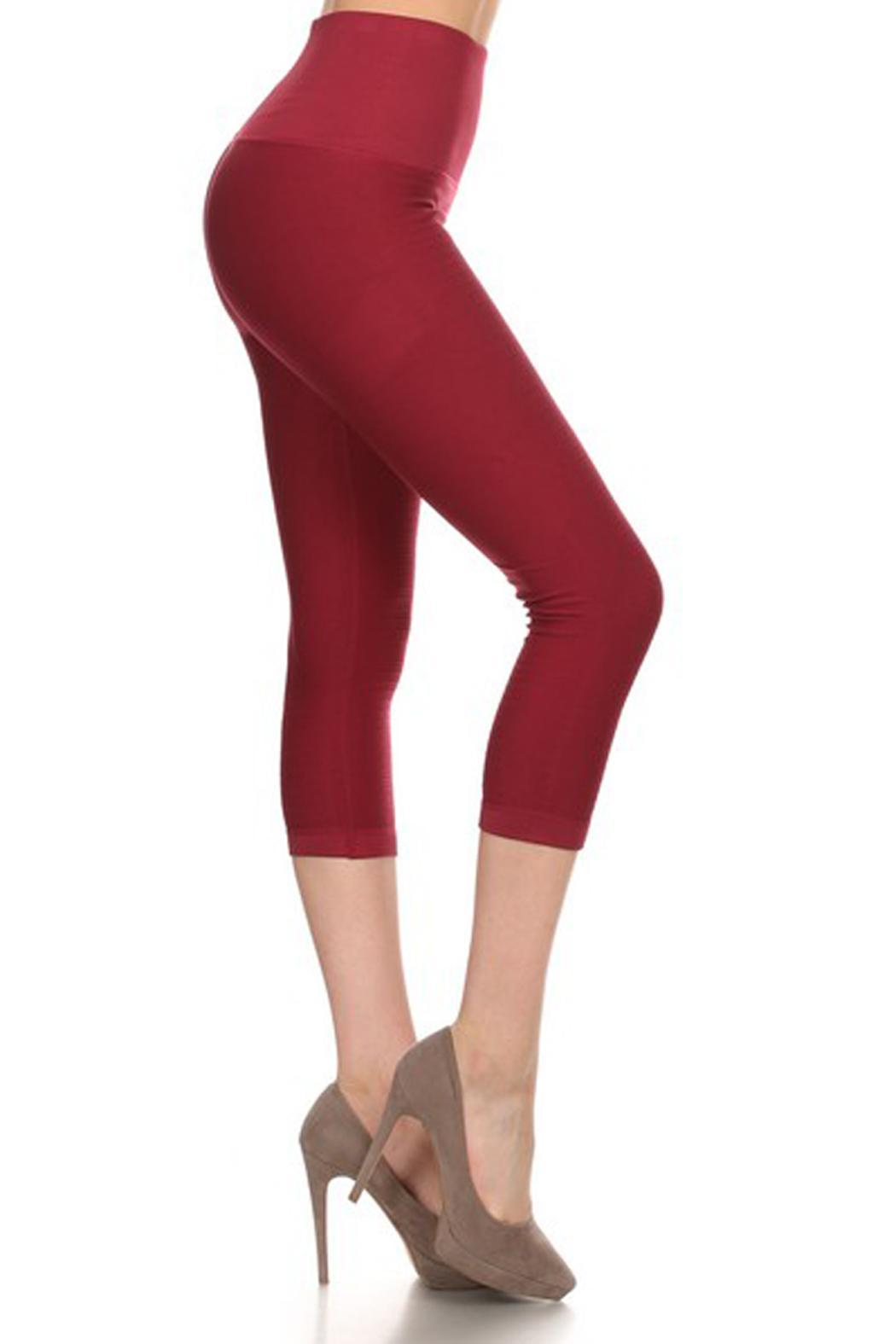 JChronicles Yoga Fitness Leggings - Front Cropped Image