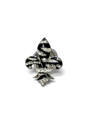 JChronicles Zebra Fleur De Lis Ring - Product Mini Image