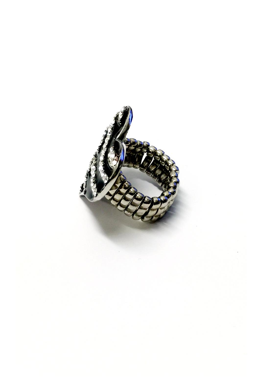 JChronicles Zebra Heart Ring - Side Cropped Image