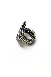 JChronicles Zebra Heart Ring - Side cropped