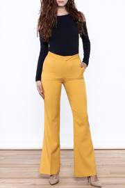 Jealous Tomato Mustard Bell Pants - Front full body