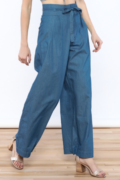 Shoptiques Product: Wide Leg Denim Pants