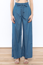 Jealous Tomato Wide Leg Denim Pants - Side cropped